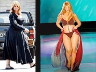 Kristie Alley's weight-loss